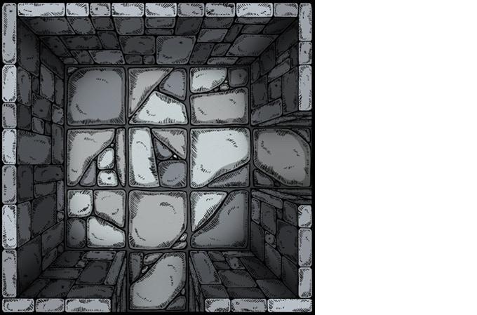 Dungeon Set 3 (bird's eye view)