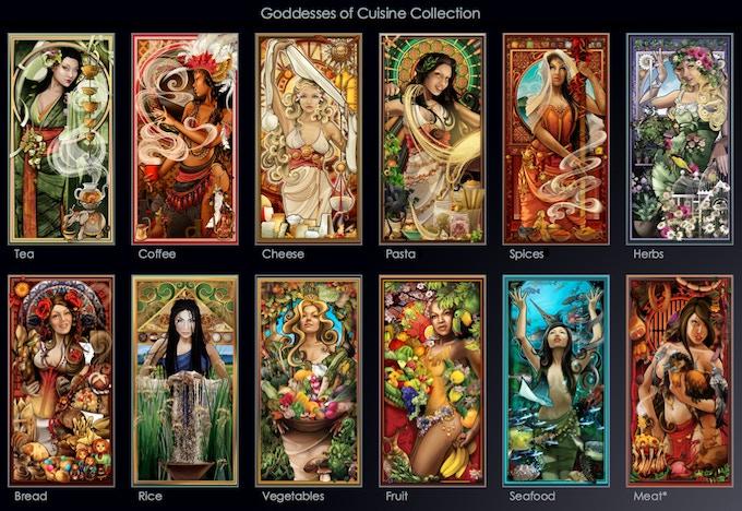 Goddesses of Cuisine