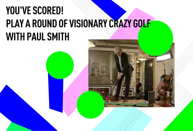 Plus your name proudly displayed on Paul Smith's Clubhouse in Trafalgar Square and on our Wall of Fame - £5,000
