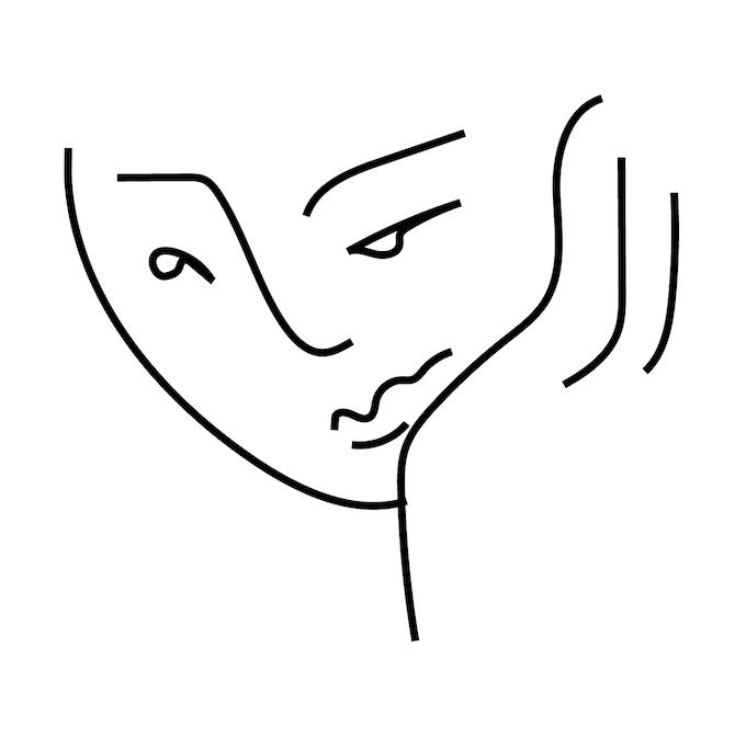 Picasso Pin Illustration