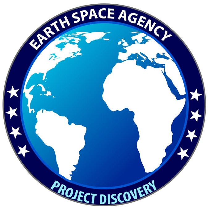 The Discovery mission patch, available to donors at the $30 level
