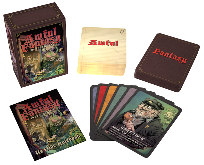 Awful Fantasy: The Card Game by Awful Fantasy — Kickstarter