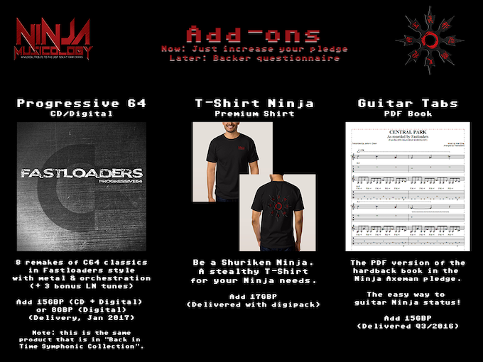 Click the image for more details of these great add-ons!