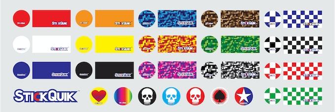 StickQuik Disk & Strip Graphic Styles