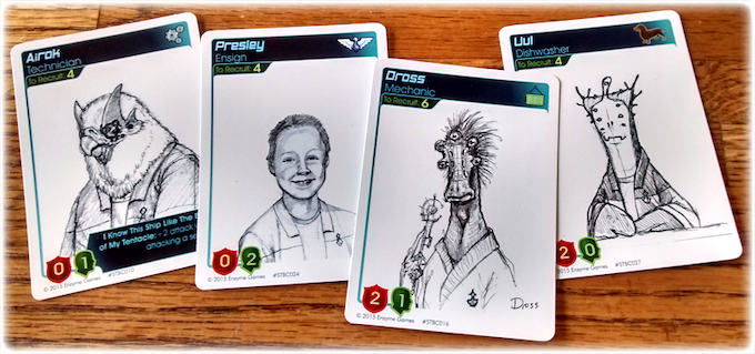 Early crew concepts