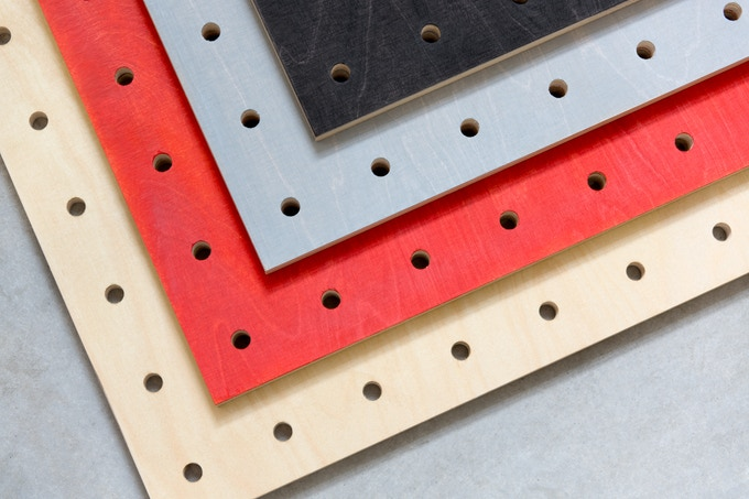 Choose from Natural, Red, Grey and Black.