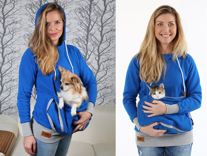 Or wear Roodie walking around with your pet snug!