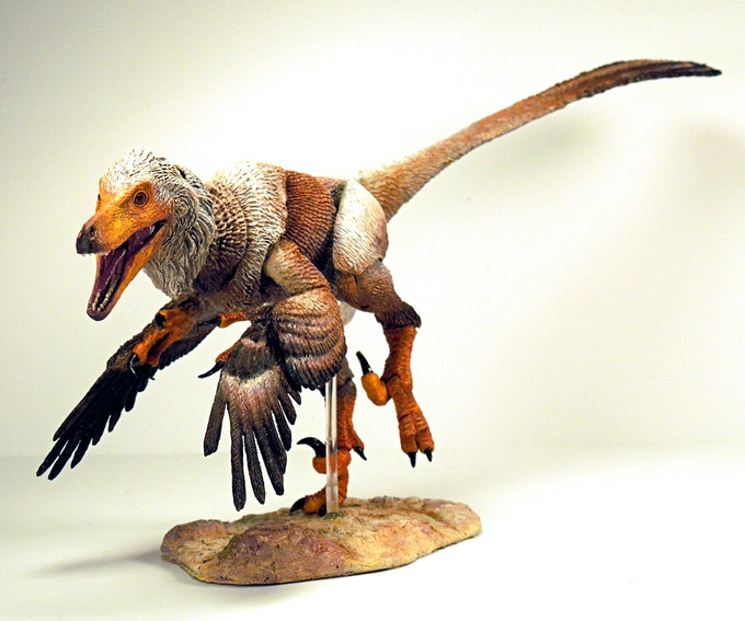 Efficient And Robust D Line Drawings Using Difference Of Gaussian : Beasts of the mesozoic raptor series action figures by