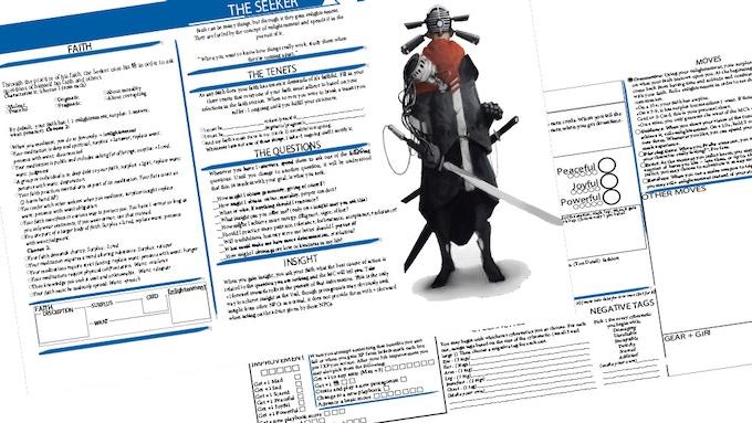 The Seeker playbook; layout not final