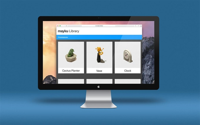 The Mayku Library - an online platform dedicated to making