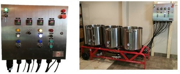 Electric Ruby Street Brew System to be used in first years of Furnace Brewing's existence