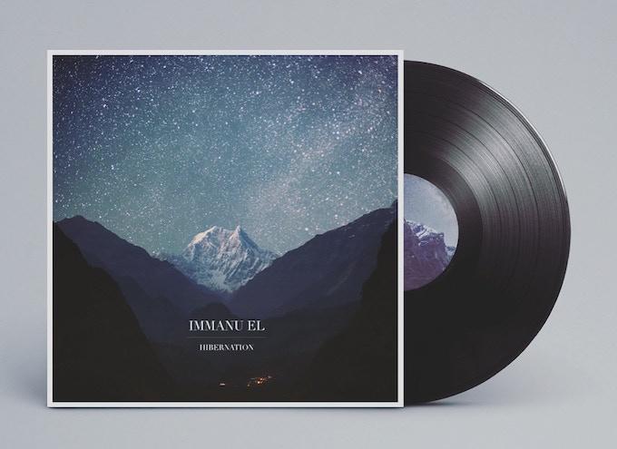Hibernation vinyl cover mockup