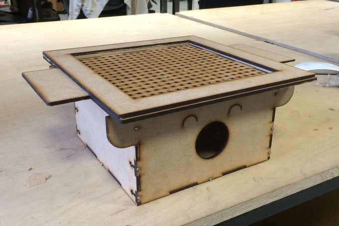 March 2015 - the first lasercut FormBox prototype - a bit rough around the edges but it worked!