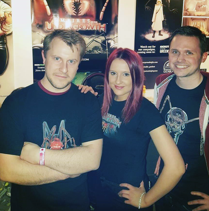 EGX 2016. We were really grateful for Hannah's help in showcasing the game at our first event