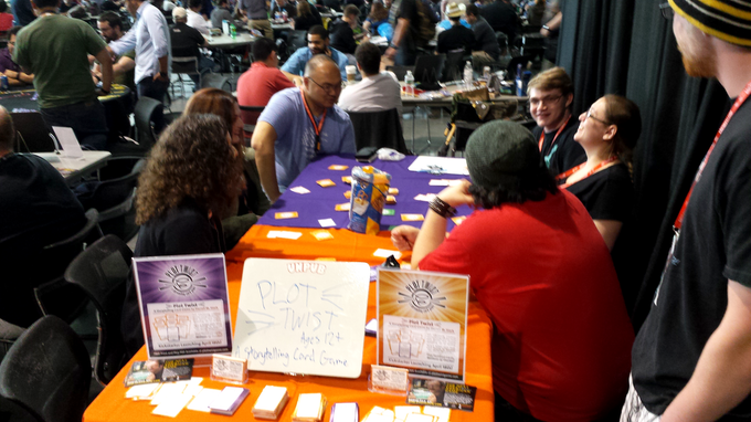 Demoing Plot Twist at PAX East