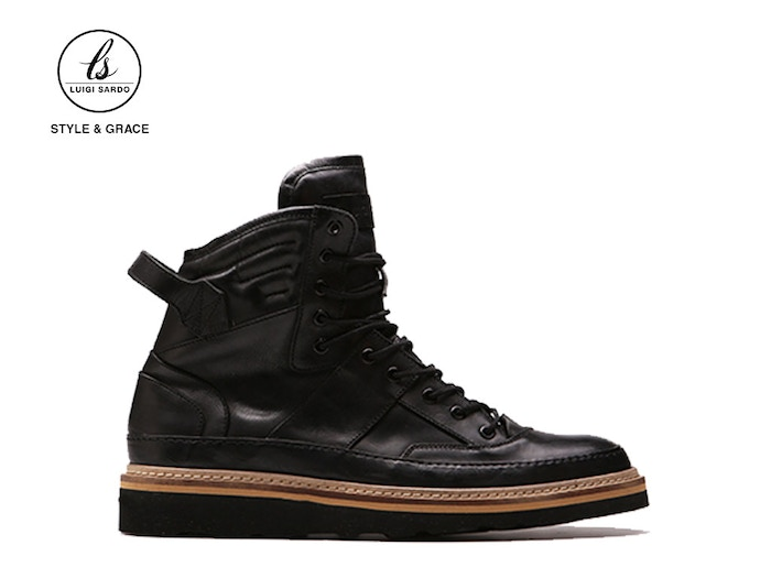 Made in Europe from the finest quality leathers and outsoles, The Domenico Sneakerboot will last a lifetime without breaking the bank.