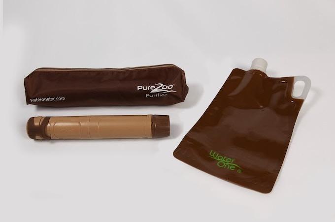 Pure2Go Traveler's Kit