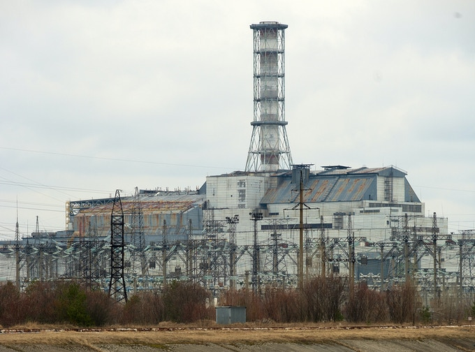 The Chernobyl Nuclear Power Plant, Ukraine