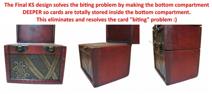 Calendar Design Ks : Handmade wood deck counter box for tcg tabletop games