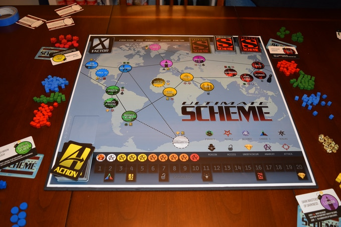 Ultimate Scheme prototype game in action!