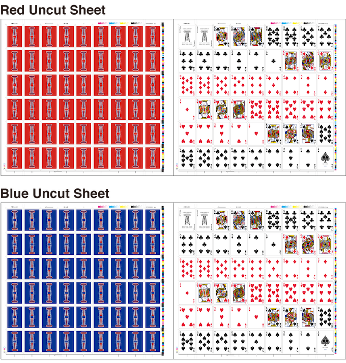 Extremely limited edition of Uncut Sheet. A perfect collector's item and a rare piece of art to frame and hang on your wall.