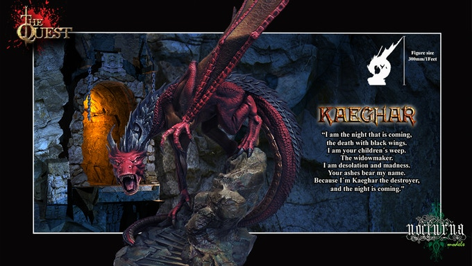KAEGHAR the Destroyer 300 mm / 1 Feet Resin kit to assemble and paint. Situable for various scales.