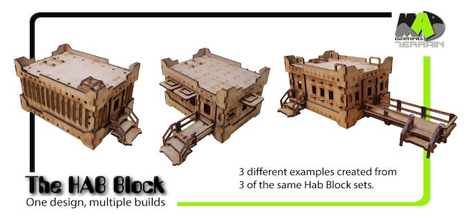 3 Hab Block Variants