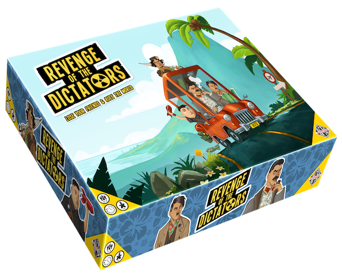 An overly competitive rat race board game with Dictators. Disarm Nuclear Facilities and thwart your opponents for World Domination!