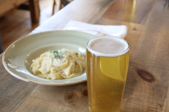 Saltbox Kitchen beer - the perfect food companion