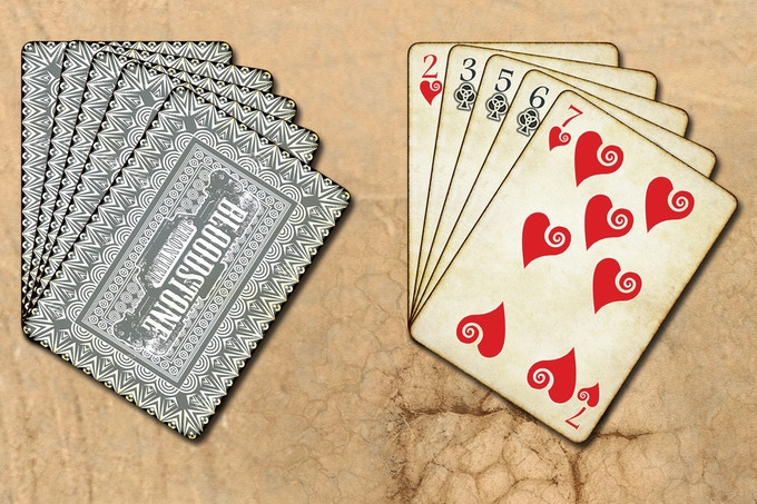 Both players have a Hand of number cards, drawn from the Supply Deck, with which they perform actions, make attacks and defend their Characters