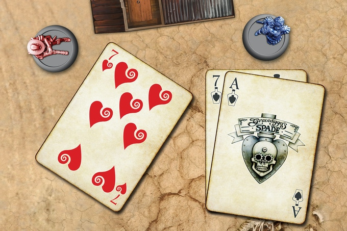 Play one or more cards to Defend against the shot. Multiple cards can only be played if they are from the same suit
