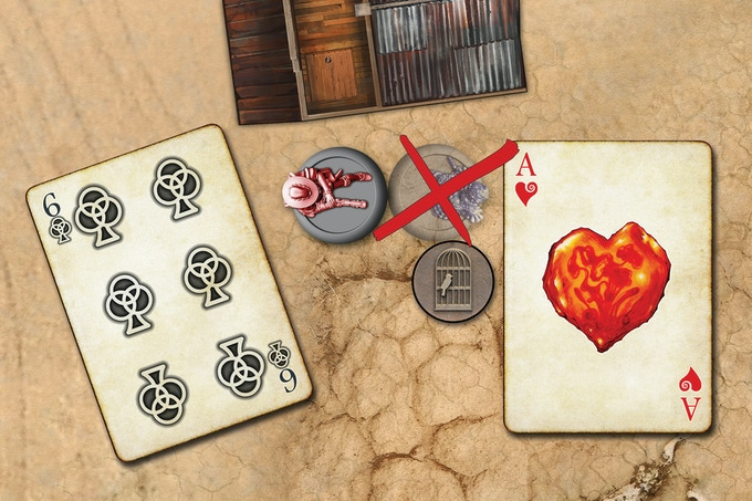 Play one or more cards to Defend against the attack. If you can't successfully Defend, the Character is Taken Out and leaves behind a Stash