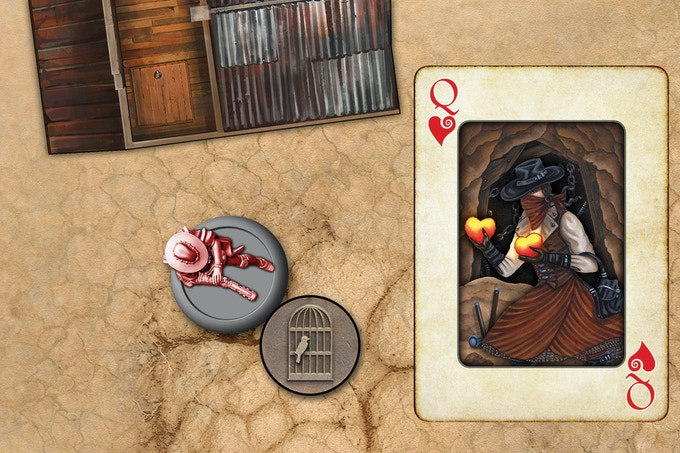 To Loot a Stash, play a card from your Hand to make a draw from the Asset Deck. As with other Actions,  playing a black or red card has a different advantage