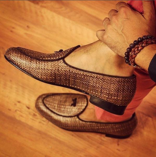 Belgian Raffa Brown Slippers