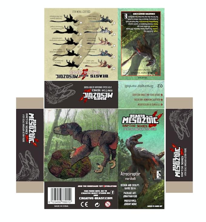 'Atrociraptor package layout'