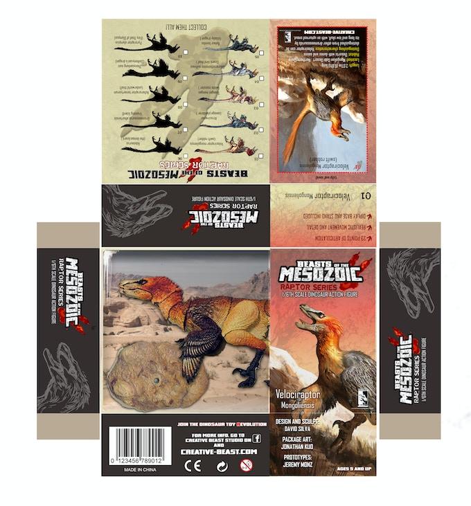 'Velociraptor package layout'
