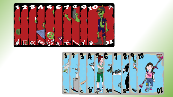 Zombie and Defense Cards