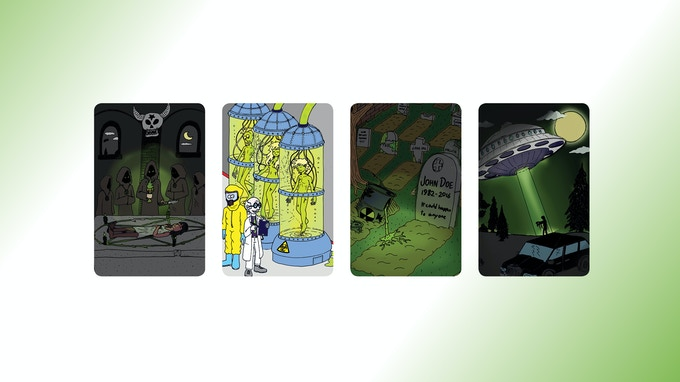 Dark Secret Cards