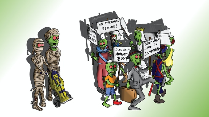 Zombies are lose and on the march