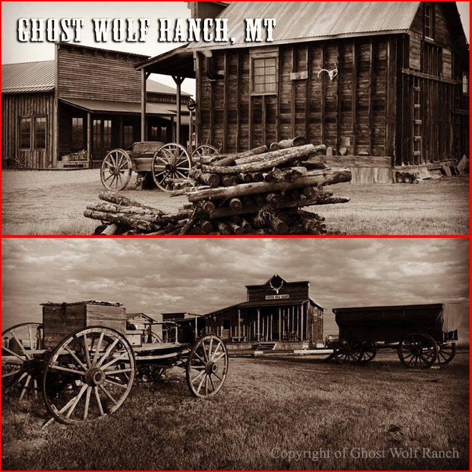 The Ghost Wolf Ranch was a late location that became available while filming 'Money, Blood, and Tombstones' and part of 'Indian Gold' was filmed there.  We intend to incorporate this lovely locale into our next two segments.
