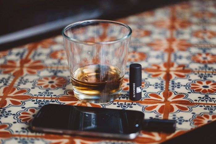 We've created DrinkMate, the smallest, most convenient breathalyzer in the world and it plugs right into your iPhone!