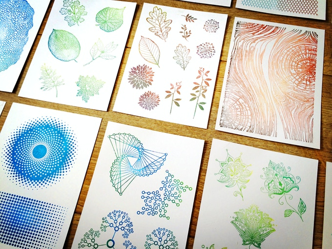 Stamping on paper