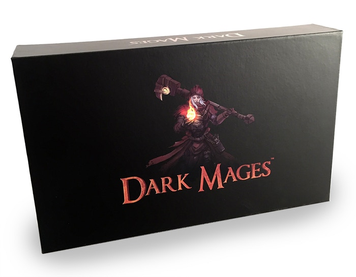 Dark Mages is a 2 to 8 players Card Game in which Mages are waging a Magic Battle.