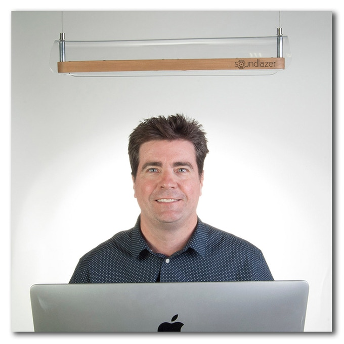 Richard Haberkern, Inventer of the Soundlazer VR.