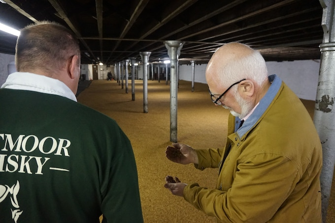Where our barley is malted, at Tuckers Maltings, Newton Abbot, Devon