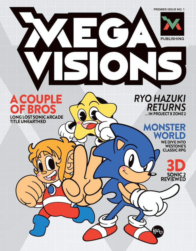 (Note: This is a sample design and doesn't necessarily indicate the final Mega Visions design)
