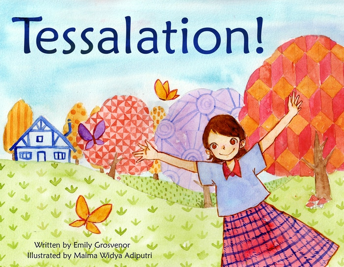 Join Tessa in this whimsical, pattern-laden children's picture book about tessellations and the magic of the backyard.
