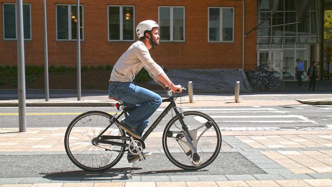 Our CTO, Dakota Decker,  on his daily commuter bike