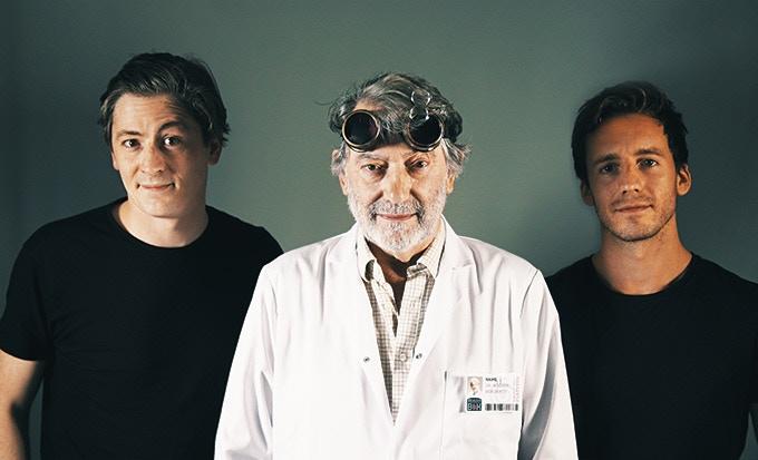 Dave M, Hugo, Dave S
