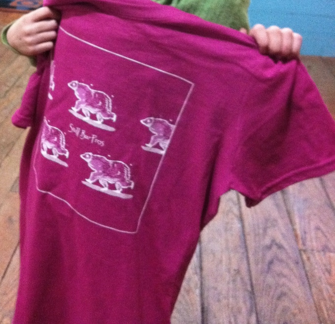 SBP Kathleen Jennings Bear T-shirt.